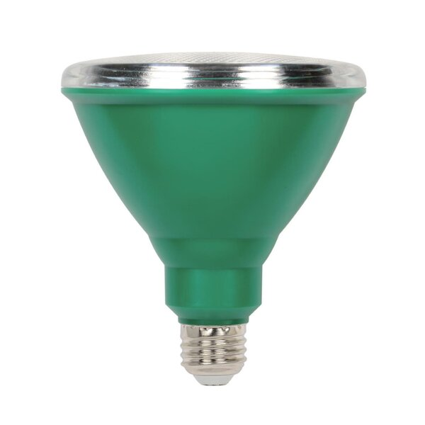 15W E26 LED Floodlight Light Bulb Green (Set of 6) by Westinghouse Lighting