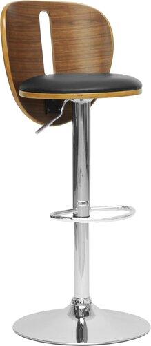 Baxton Studio Adjustable Height Swivel Bar Stool by Wholesale Interiors