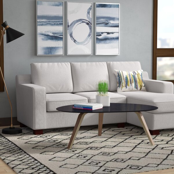 Huckaby Blaxlands Right Hand Facing Sectional by Laurel Foundry Modern Farmhouse