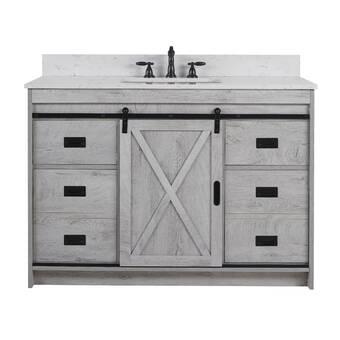 Red Barrel Studio Alaetra 37 Single Bathroom Vanity Set Wayfair
