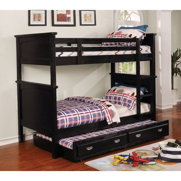 Sultan Twin-on-Twin Bunk Bed by Harriet Bee