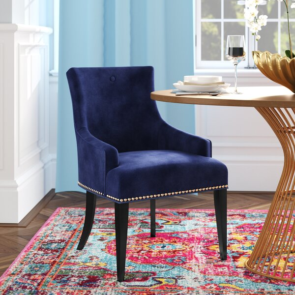 Dravis Upholstered Dining Chair By Willa Arlo Interiors