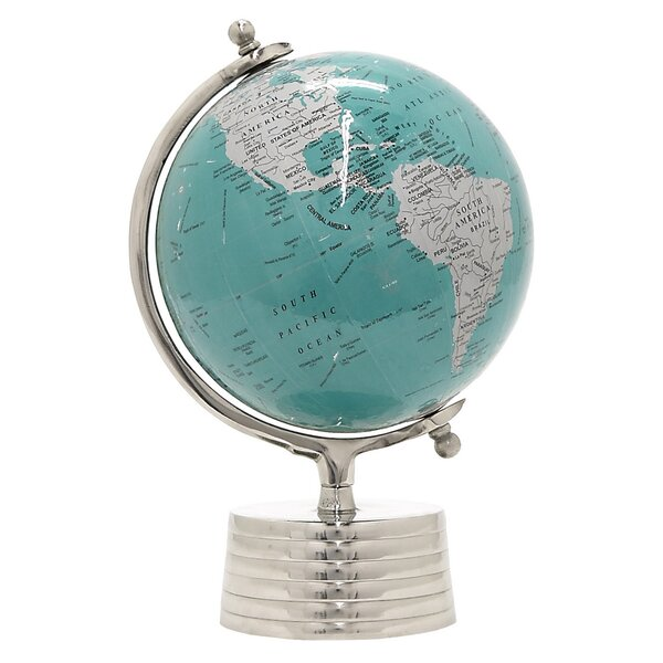 Topographical Globe by Alcott Hill