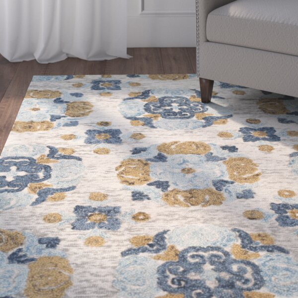 Abrahamic Hand-Tufted Area Rug by Red Barrel Studio