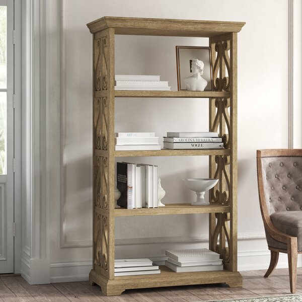 Parsons Brushed Wood Standard Bookcase By Kelly Clarkson Home