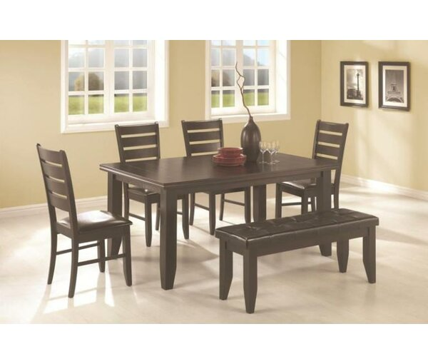 Leib 6 Piece Dining Set by Alcott Hill