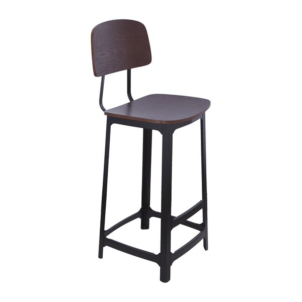 Wampold Bar Stool by 17 Stories