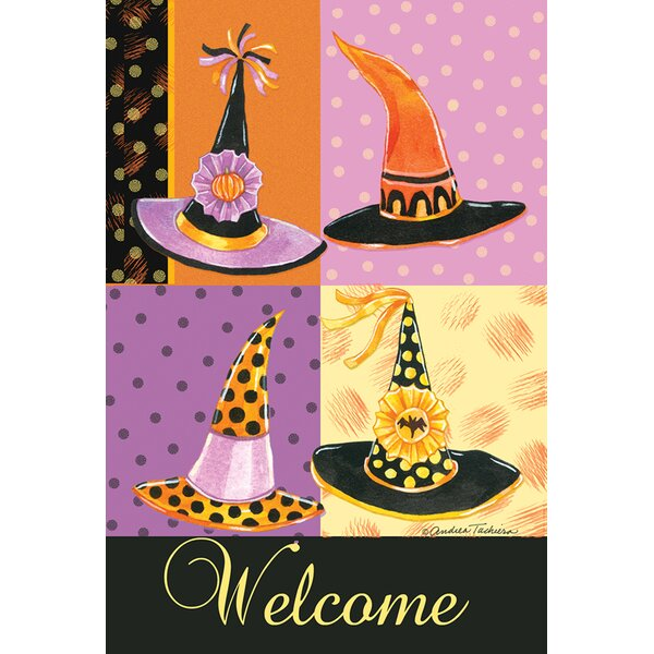 Witchy Welcome Garden flag by Toland Home Garden