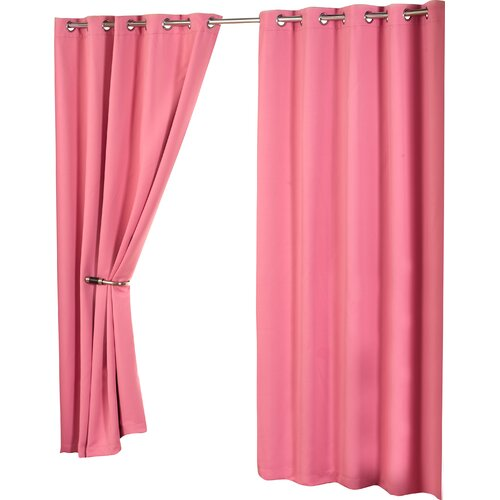 Eyelet Blackout Thermal Curtains Marlow Home Co. Panel