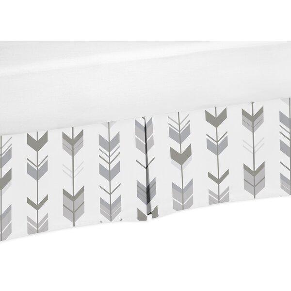 Mod Arrow Bed Skirt by Sweet Jojo Designs
