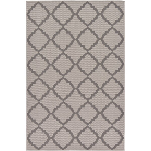 Templepatrick Gray Outdoor Area Rug by Charlton Home
