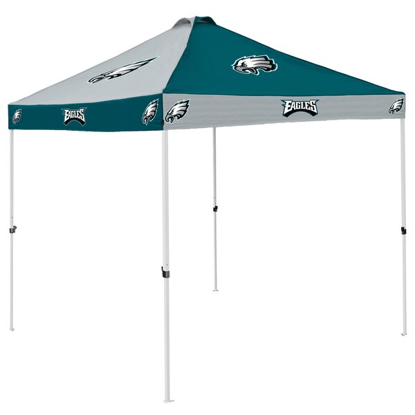 Pagoda 9 Ft. W x 9 Ft. D Steel Pop-Up Canopy by Logo Brands