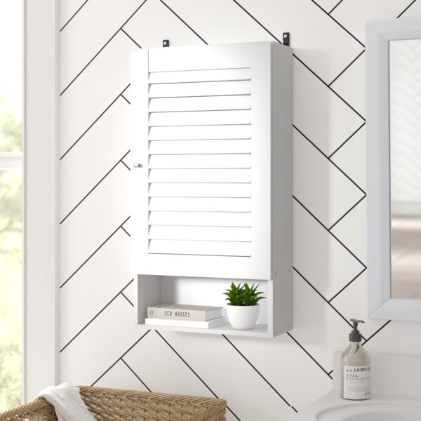 Dickens 15.8 W x 29.5 H x 7.5 D  Wall Mounted Over-The-Toilet Storage