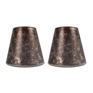 Best 5 Mica Bell Candelabra Shade (Set of 2) By Loon Peak