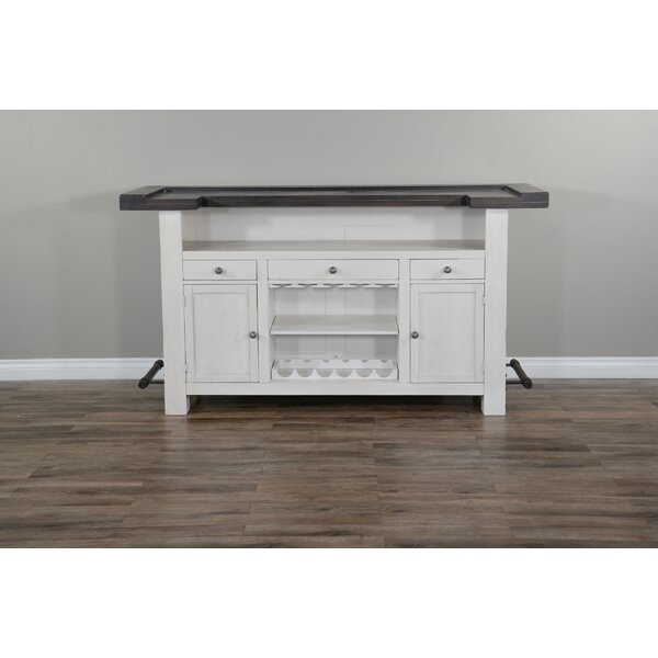 Bayless Carriage Bar Cabinet by Gracie Oaks Gracie Oaks
