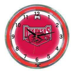 NCAA 18 Team Neon Wall Clock by Wave 7
