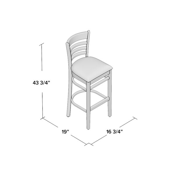 Lyman 29.5 Bar Stool (Set of 2) by Andover Mills