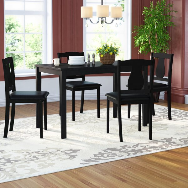 Kiel 5 Piece Dining Set by Andover Mills