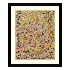 'Shimmering Substance, 1946' by Jackson Pollock Framed Painting Print by Amanti Art