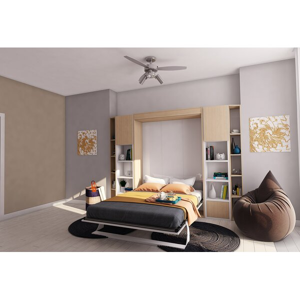 Bellezza Queen Upholstered Murphy Bed By Brayden Studio by Brayden Studio Read Reviews