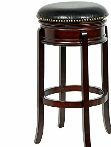 Magdaleno 34 Swivel Bar Stool by Winston Porter