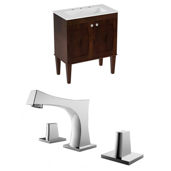 Rosehill Floor Mount 30 Single Bathroom Vanity Set by Winston Porter