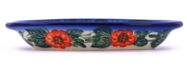 Flowers in Bloom Condiment Platter by Polmedia
