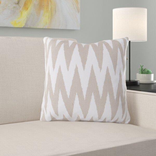 Oretha Chevron Cotton Pillow Cover by Zipcode Design