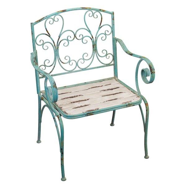 Fleur de Lis Patio Chair by Regal Art & Gift