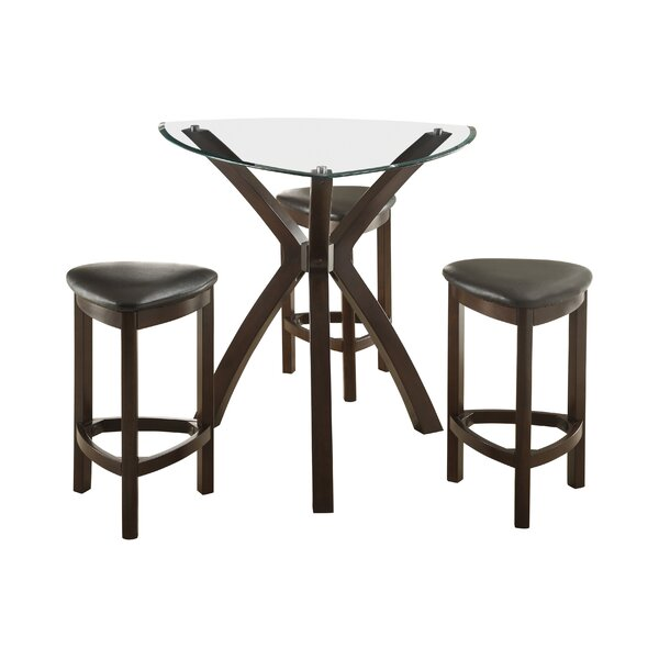 4 Piece Counter Height Dining Set by Hokku Designs Hokku Designs
