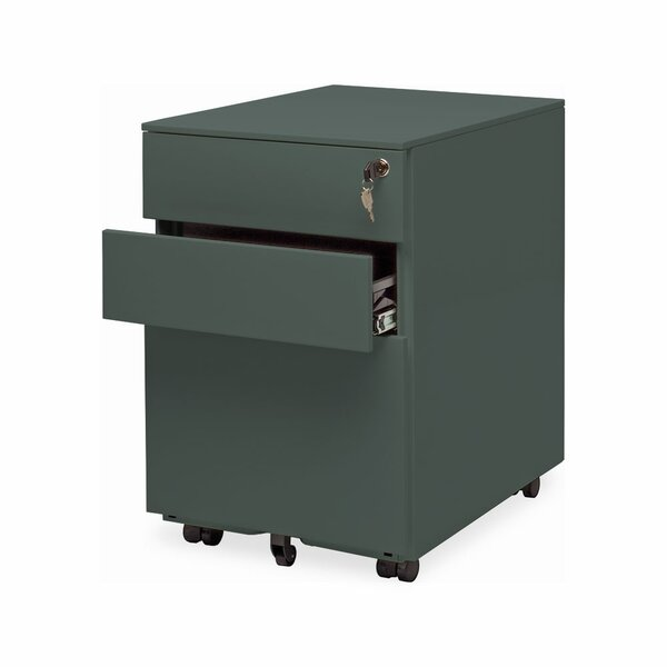 Office 3 Drawer Mobile File Cabinet by Blu Dot