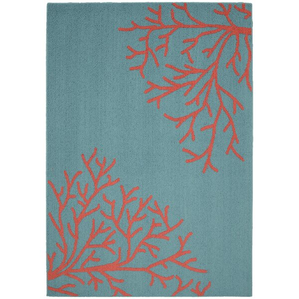 Haverhill Teal Area Rug by Highland Dunes
