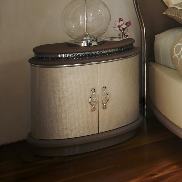 Overture 1 Drawer Nightstand by Michael Amini