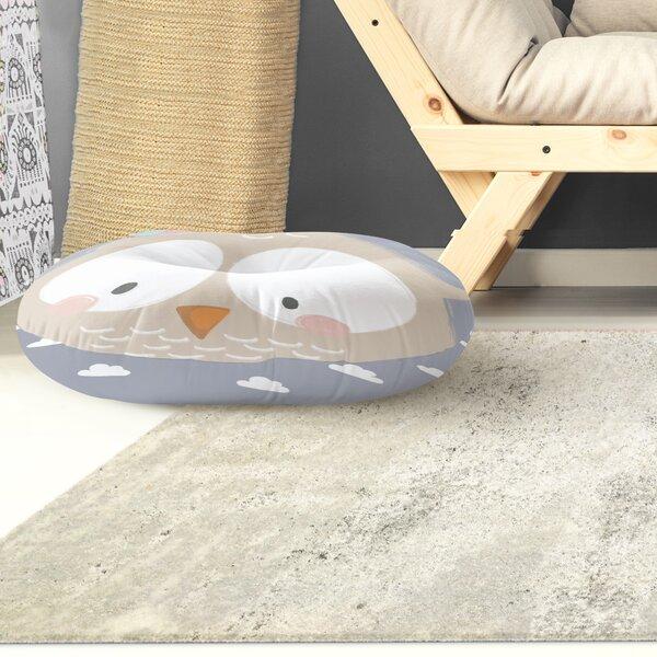 Alzado Owl Floor Pillow by Harriet Bee