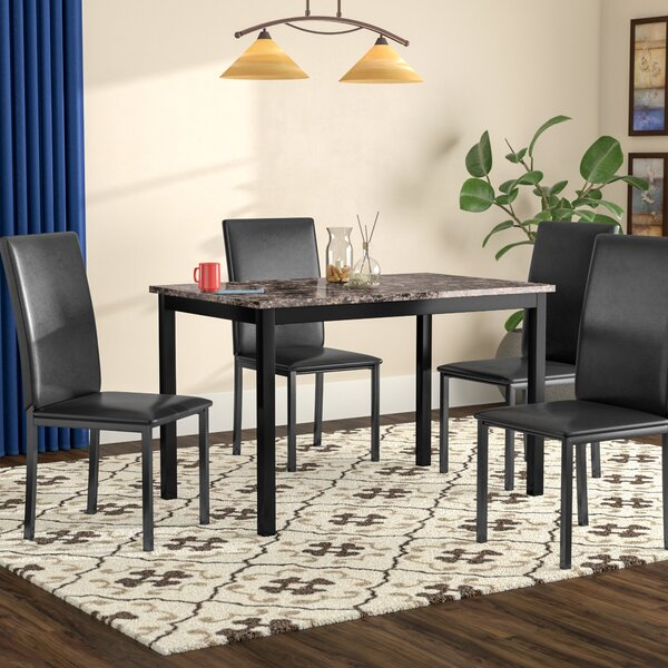 Noyes 5 piece Dining Set by Red Barrel Studio