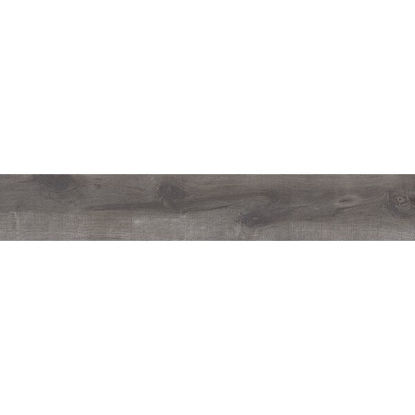 Country River Mist 8 x 48 Porcelain Wood Look Tile in Gray by MSI