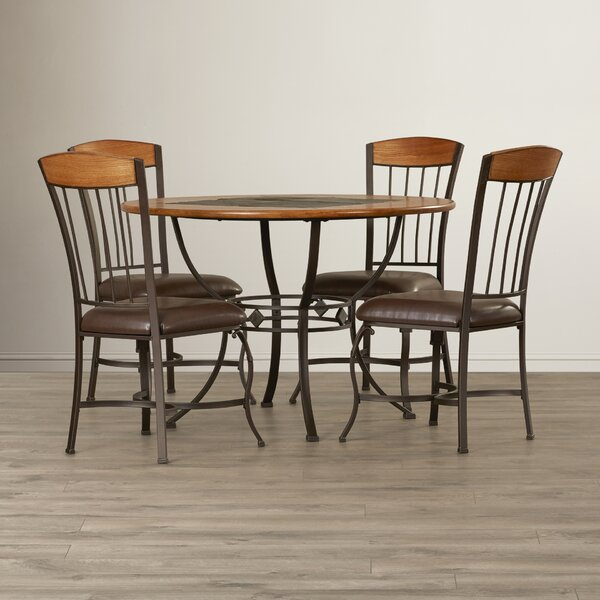 Boyers 5 Piece Dining Set by Red Barrel Studio