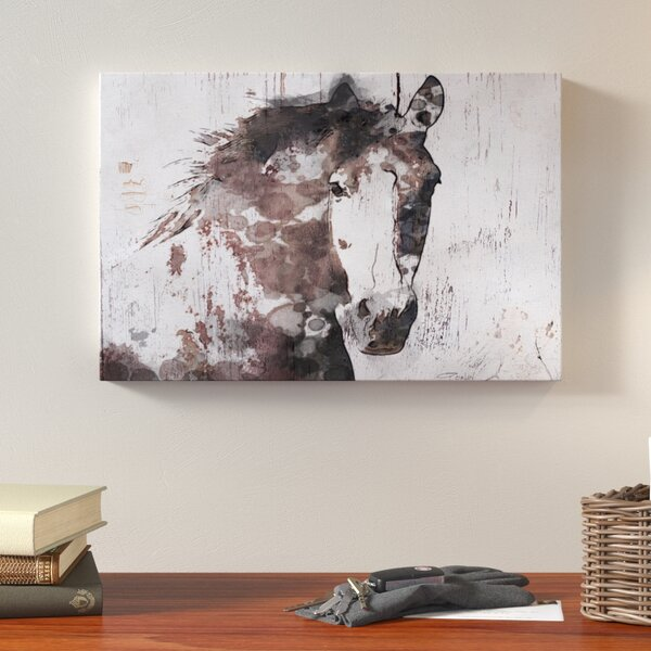 Gorgeous Horse Print On Canvas By Union Rustic.