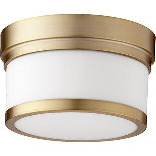Best Dian 1-Light Flush Mount By Willa Arlo Interiors