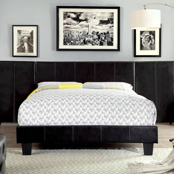 Zac Upholstered Platform Bed by Orren Ellis
