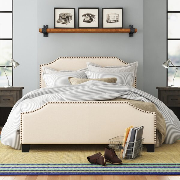 Swampscott Upholstered Platform Bed by Three Posts Teen