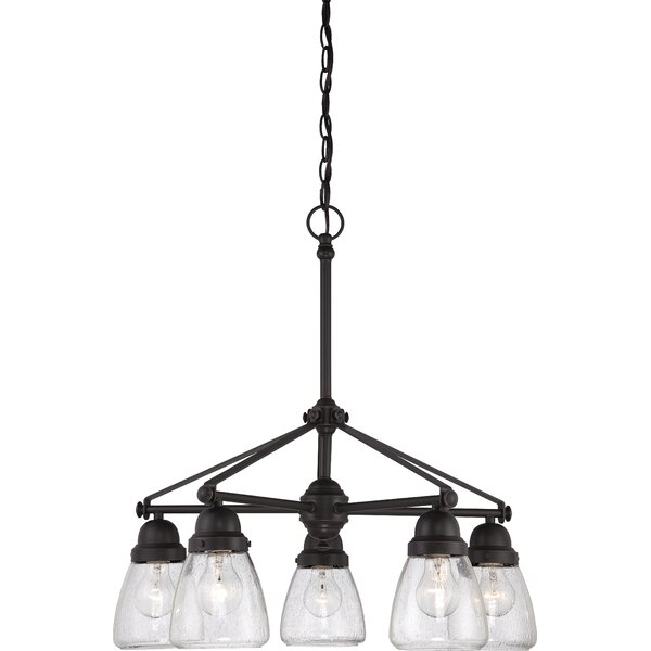 Hansen 5-Light Shaded Chandelier by Laurel Foundry