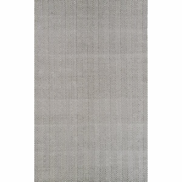 Calvert Hand-Woven Gray Area Rug by Langley Street