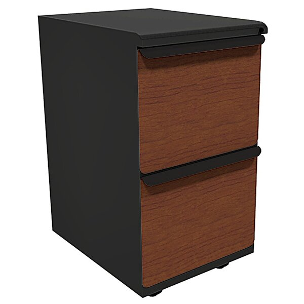 Zapf 2-Drawer Mobile Pedestals File by Marvel Office Furniture