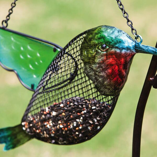 Hummingbird Decorative Bird Feeder by Evergreen Flag & Garden