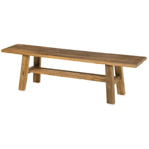 Telluride Wood Bench by Plow & Hearth