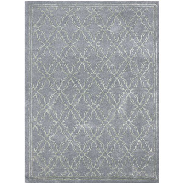 Zada Hand-Tufted Blue Area Rug by Ophelia & Co.