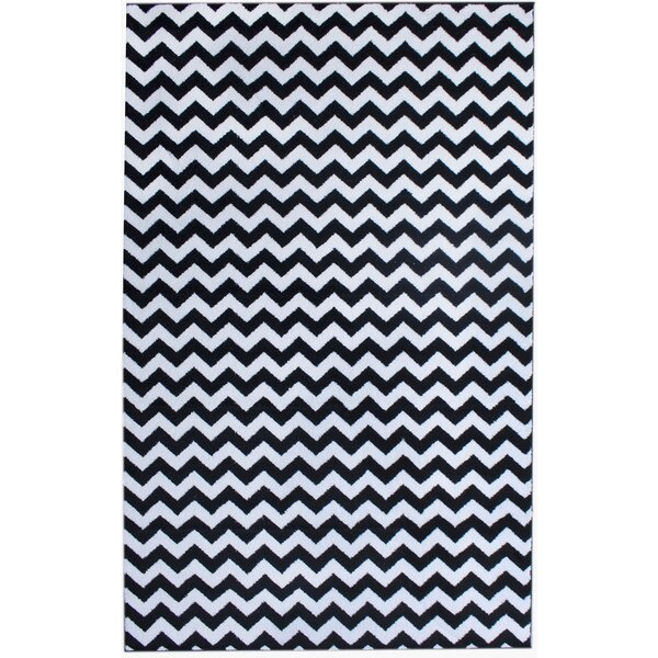 Merissa Black Area Rug by Ebern Designs