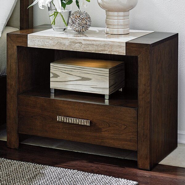 Laurel Canyon 1 Drawer Nightstand by Lexington