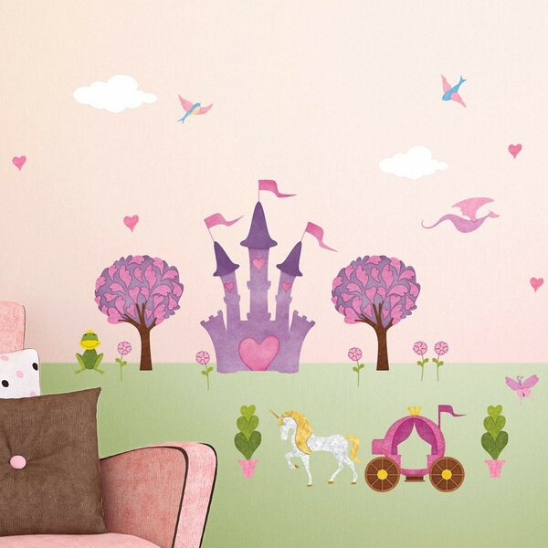 23 Princess Peel and Stick Wall Decal Set by My Wonderful Walls